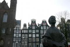 eine unbekannte Amsterdamerin