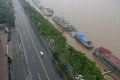 Yangtze-Ufer