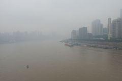 mit der Seilbahn über den Yangtze