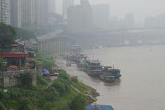Yangtse-Ufer in Chongqing