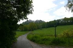 Elberadweg bei Königstein