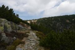 Auf dem Weg zur Elbquelle