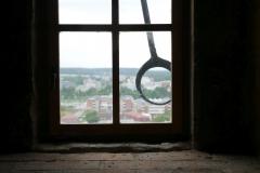 Im Uhrturm von Hradec Kralove