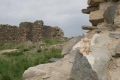 In den Ruinen von Khar Bukh