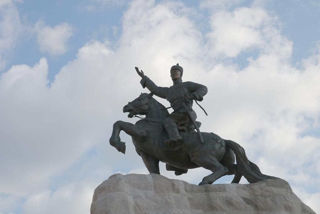 Revolutionsführer Damddiny Sukhbaatar