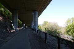 Hinter Koblenz - nicht ganz so schön hier