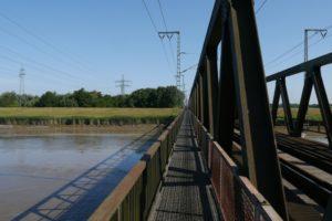 Brücke über die Leda