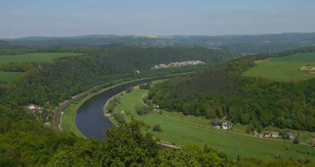 Elbe bei Königstein