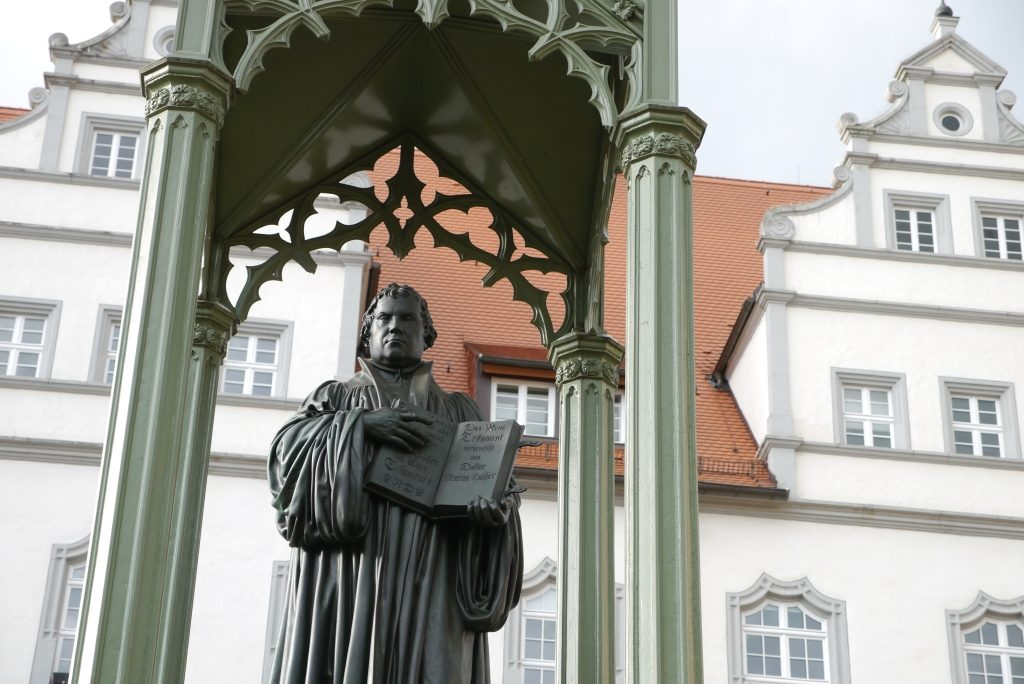 Luther in der Lutherstadt