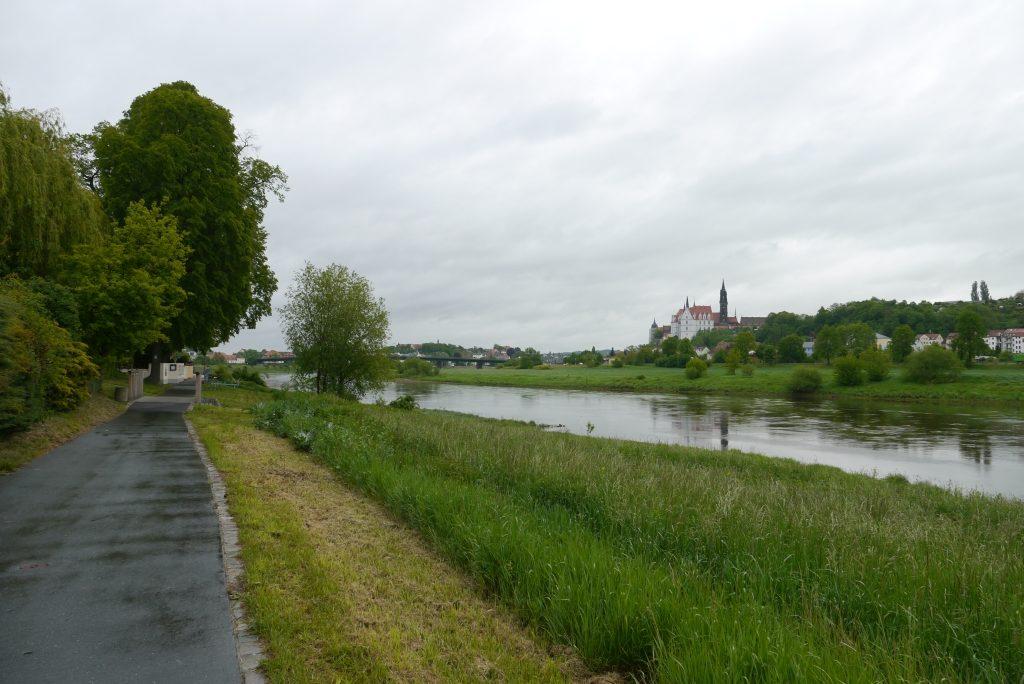 Elberadweg bei Meißen