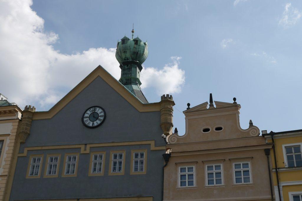 Am Marktplatz von Litoměřice