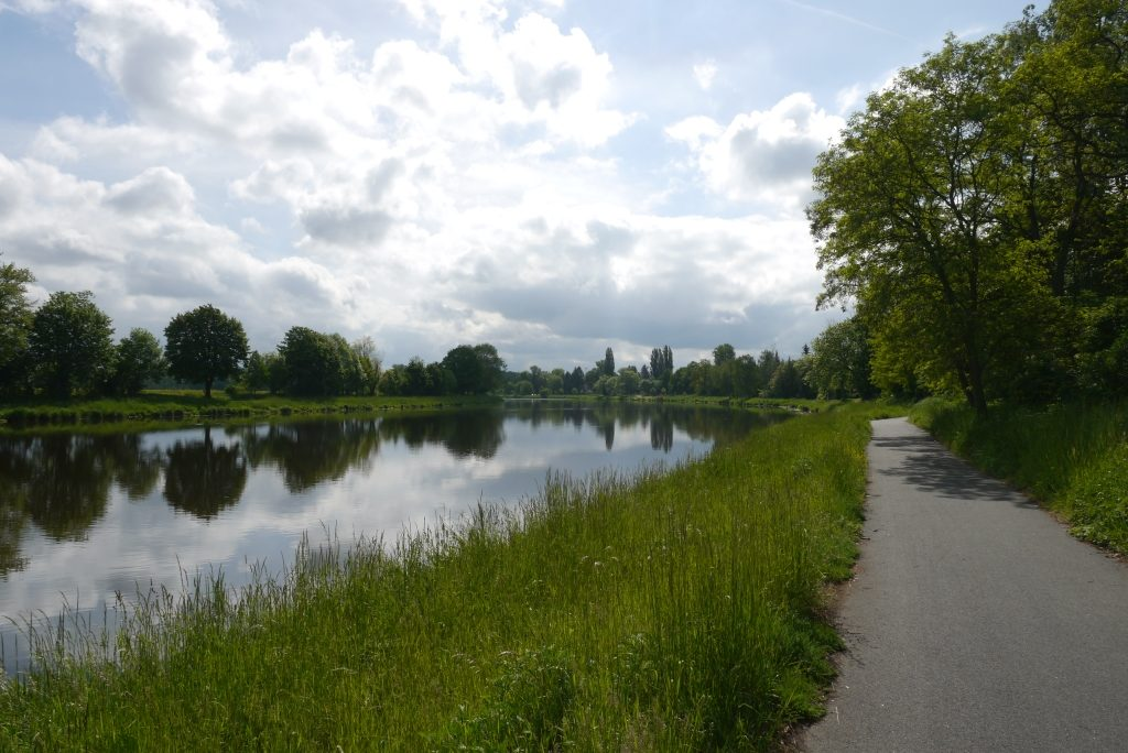 Elberadweg bei Nymburk