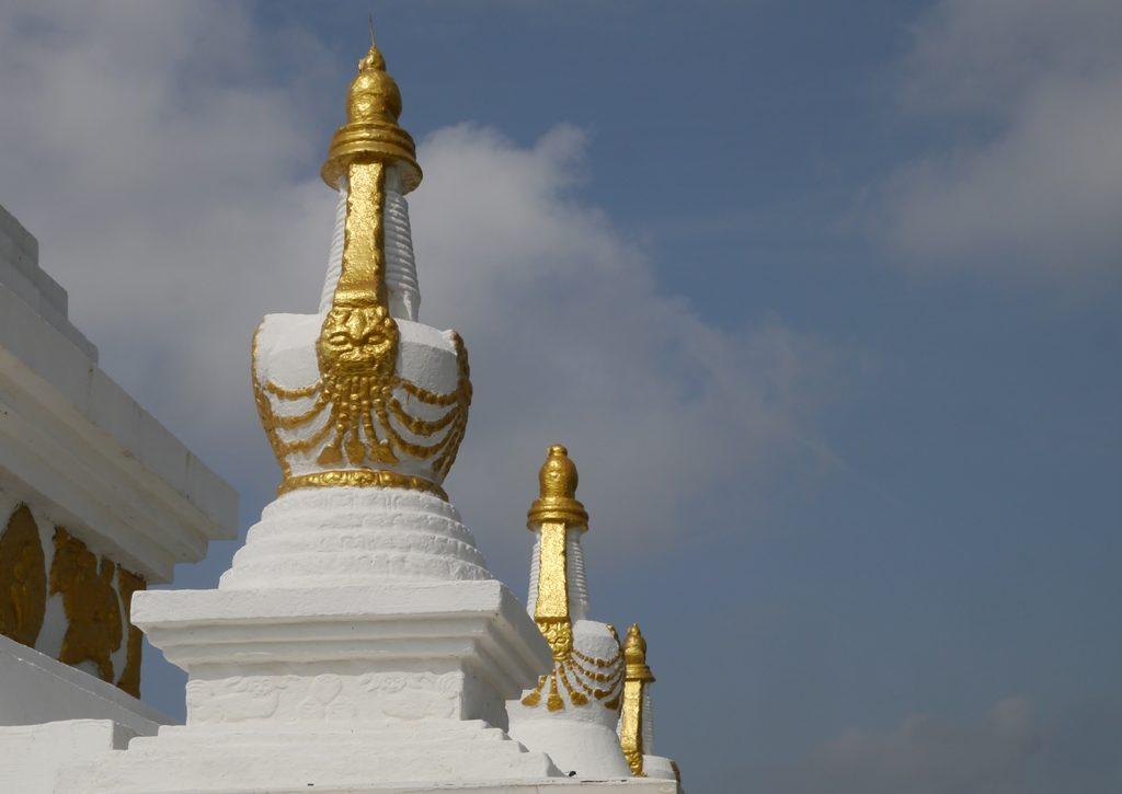 Stupas im Gandan-Kloster