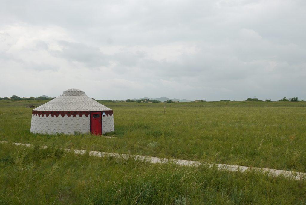 moderne Camp-Jurte