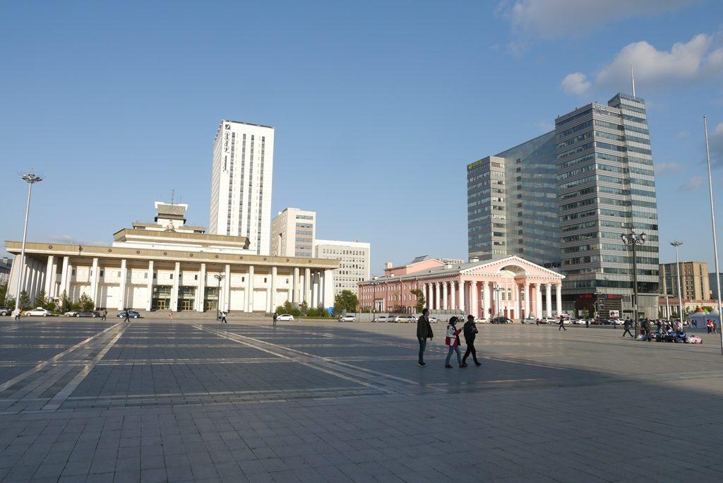 Sukhbaatar-Platz
